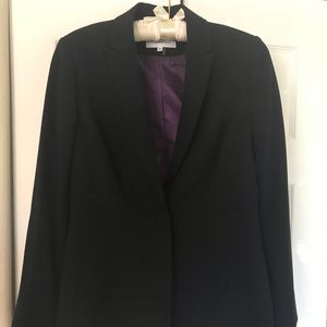 Calvin Klein Black Stretch Blazer.